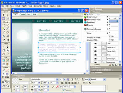 Download Macromedia Fireworks MX for Windows - OldVersion.com