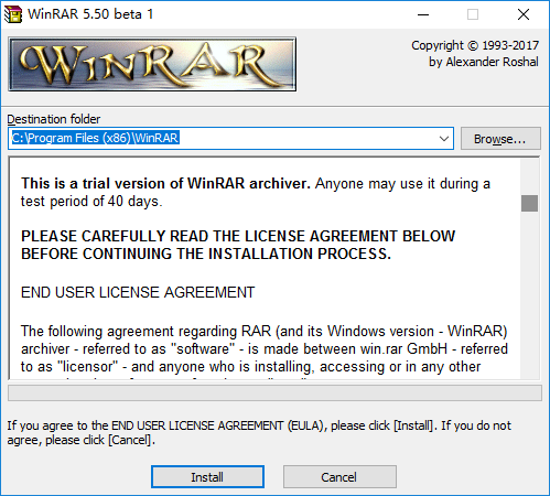 Download WinRAR 5 50 beta 1 (x86) for Windows - OldVersion com